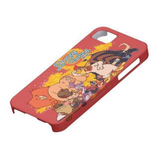 Molde y logotipo Looney de la demostración de los iPhone 5 Case-Mate Protectores