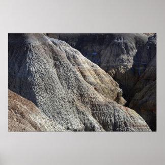 Moldeado por el poster escénico ligero del paisaje