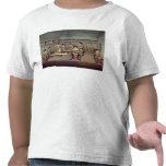 Moldear las pelotillas del polvo camisetas