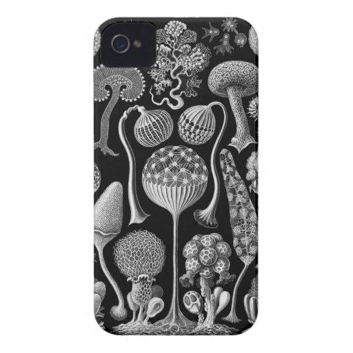Moldes de limo en blanco y negro iPhone 4 Case-Mate cobertura