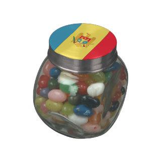 Moldova Jelly Belly Candy Jar