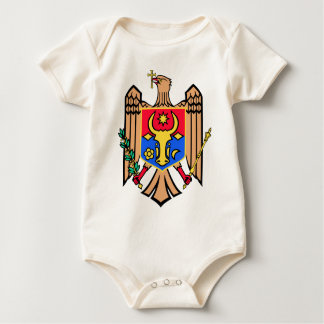 Moldova Coat of Arms Baby Bodysuit