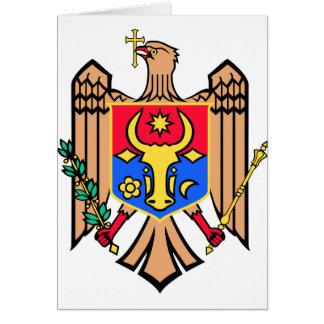 Moldova Coat of Arms Greeting Card