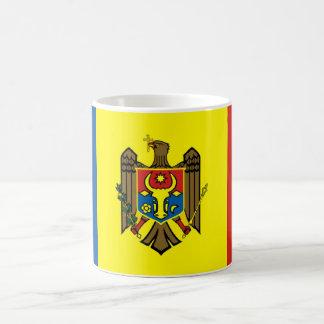 Moldova country flag nation symbol republic coffee mug