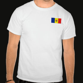 Selected Moldova T-Shirt Front