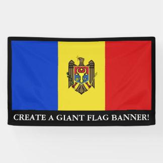 Moldova Flag Banner