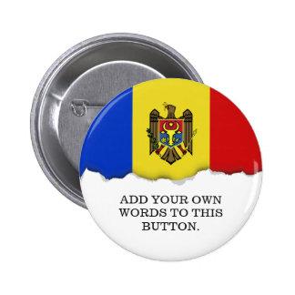 Moldova Flag Button