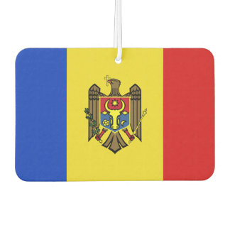 Moldova Flag Car Air Freshener