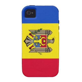 Moldova Flag Vibe iPhone 4 Case