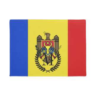 Moldova Flag Doormat
