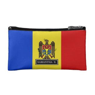 Moldova Flag Makeup Bag
