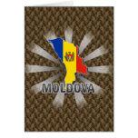 Moldova Flag Map 2.0 Card