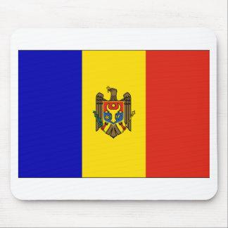 Moldova Flag Mouse Pad
