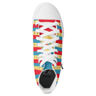 Moldova Flag -.png High-Top Sneakers