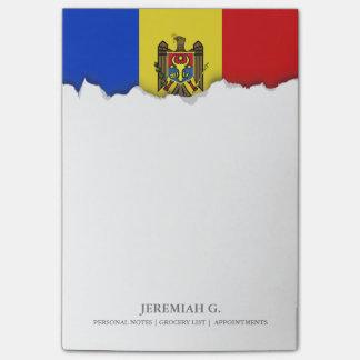 Moldova Flag Post-it Notes