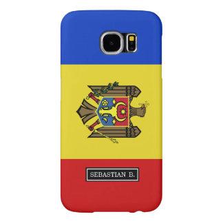 Moldova Flag Samsung Galaxy S6 Case