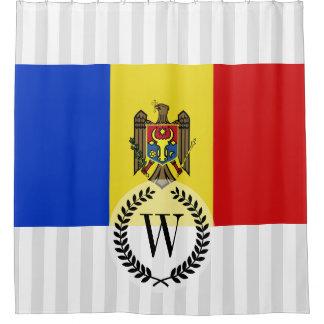 Moldova Flag Shower Curtain