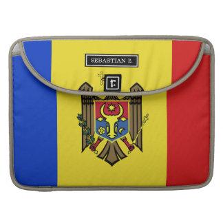 Moldova Flag Sleeve For MacBook Pro