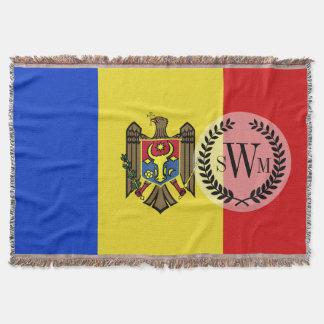 Moldova Flag Throw