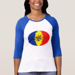 Moldova Gnarly Flag T-Shirt