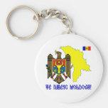 Moldova Keychains