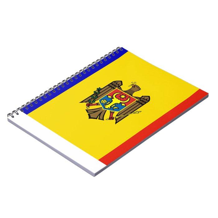 Moldovan Flag Notebook