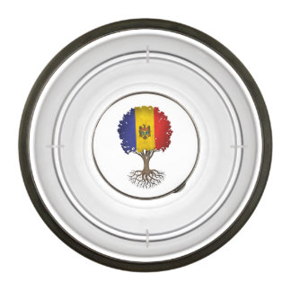 Moldovan Flag Tree of Life Customizable Bowl