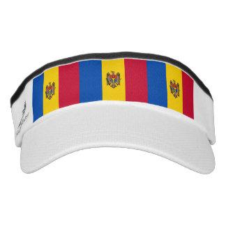 Moldovan flag visor