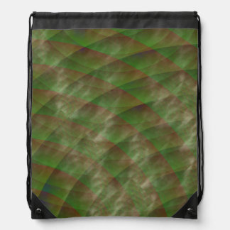 Moldy Interference by Kenneth Yoncich Drawstring Bag