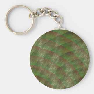 Moldy Interference by Kenneth Yoncich Keychain