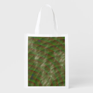 Moldy Interference by Kenneth Yoncich Reusable Grocery Bag