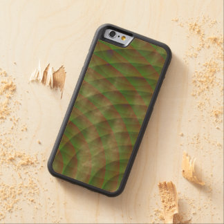 Moldy Interference Carved Maple iPhone 6 Bumper Case