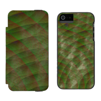 Moldy Interference iPhone SE/5/5s Wallet Case