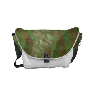 Moldy Interference Small Messenger Bag