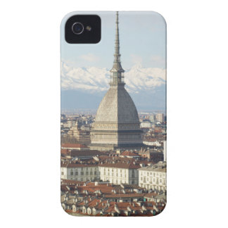 Mole Antonelliana in Turin Italy seen from the hil Case-Mate iPhone 4 Case