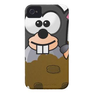 Mole Cartoon iPhone 4 Cover