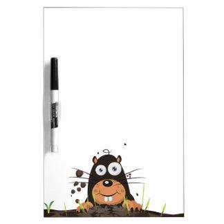 Mole Dry Erase Board