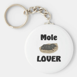 Mole Lover Keychain