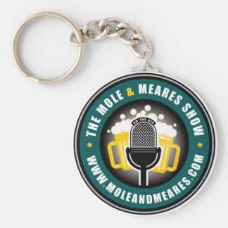 Mole & Meares show Gifts Basic Round Button Keychain