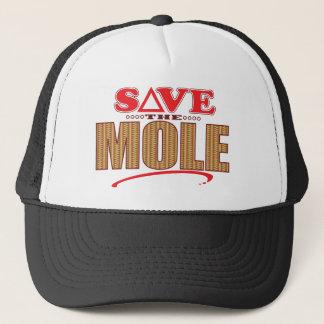 Mole Save Trucker Hat