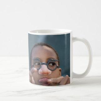 mole squared classic white coffee mug