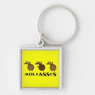 Moleasses Keychain