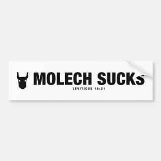 Molech Sucks Sticker
