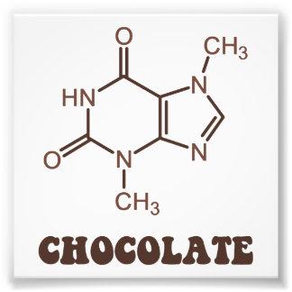 Molécula científica de la tebromina del elemento cojinete