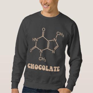 Molécula científica de la tebromina del elemento sudadera