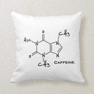 Molécula de Caffiene (estructura química) Cojines
