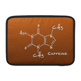 Molécula de Caffiene (estructura química) Fundas Macbook Air