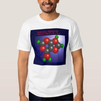 Molécula de la adenina (frente) playera