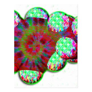 Molécula de la dopamina tarjetas postales