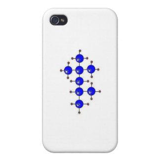 Molécula de la gasolina iPhone 4 fundas